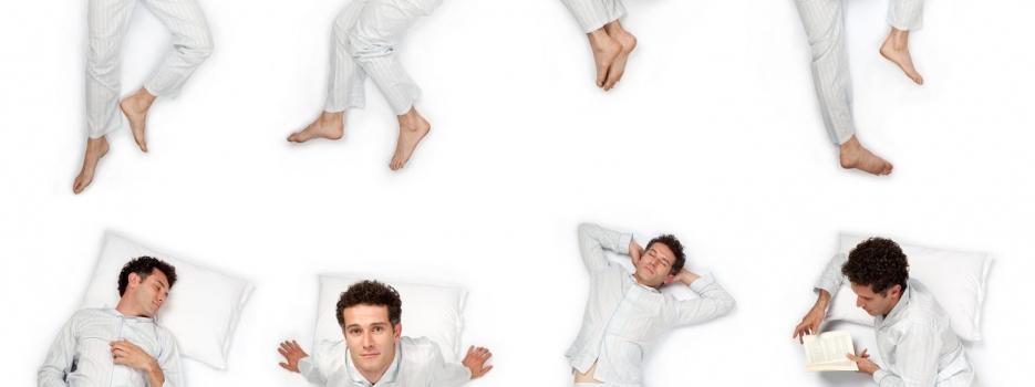 תנוחות שינה מומלצות להקלה על כאבי גב